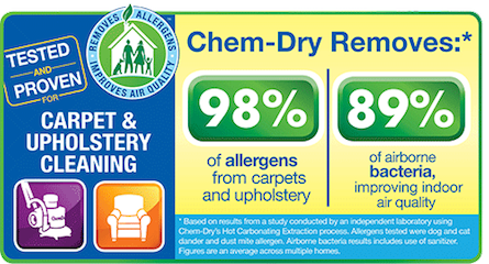 Carpet & Upholstery Cleaning makes a healthy home