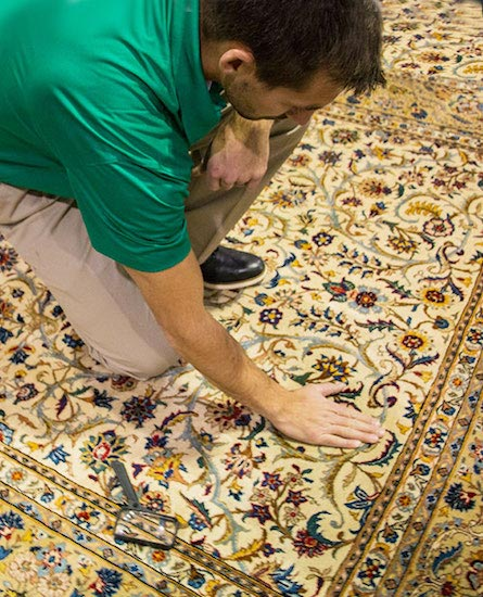 Professional Area and Oriental Rug Cleaning in Carmel